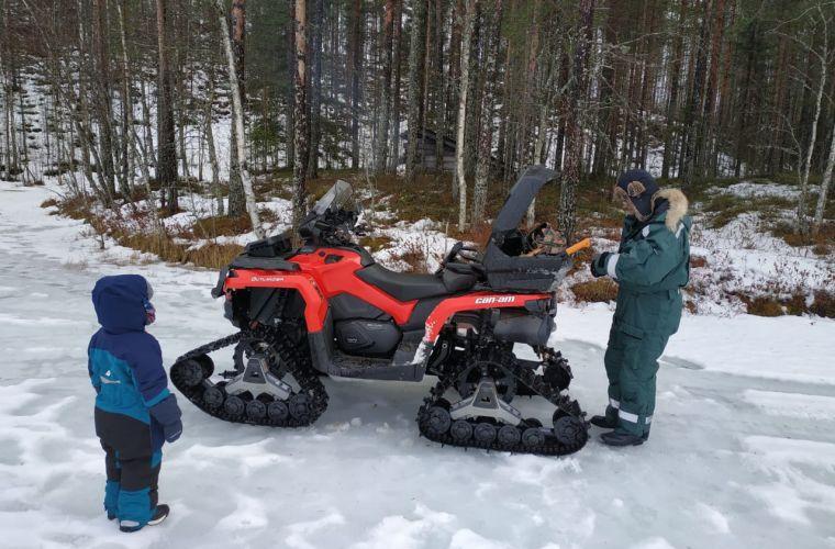 ATV Safari at Santa's Reindeers